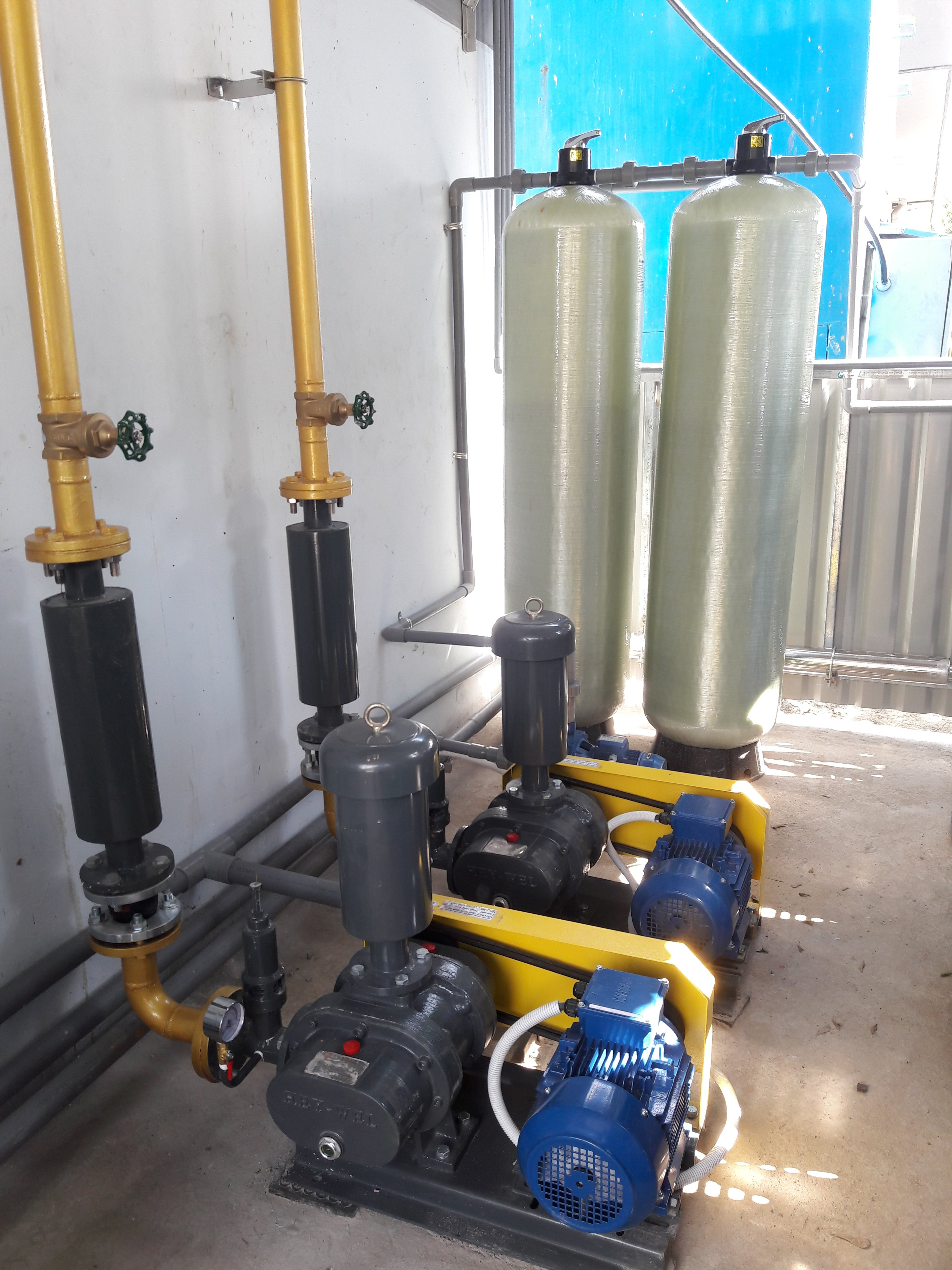 Designing, executing and constructing wastewater treatment TO TOBA TRADING CO., LTD