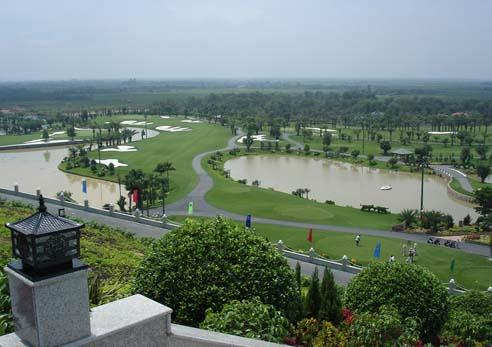 Designing the system of treating domestic wastewater of Long Thanh Golf course