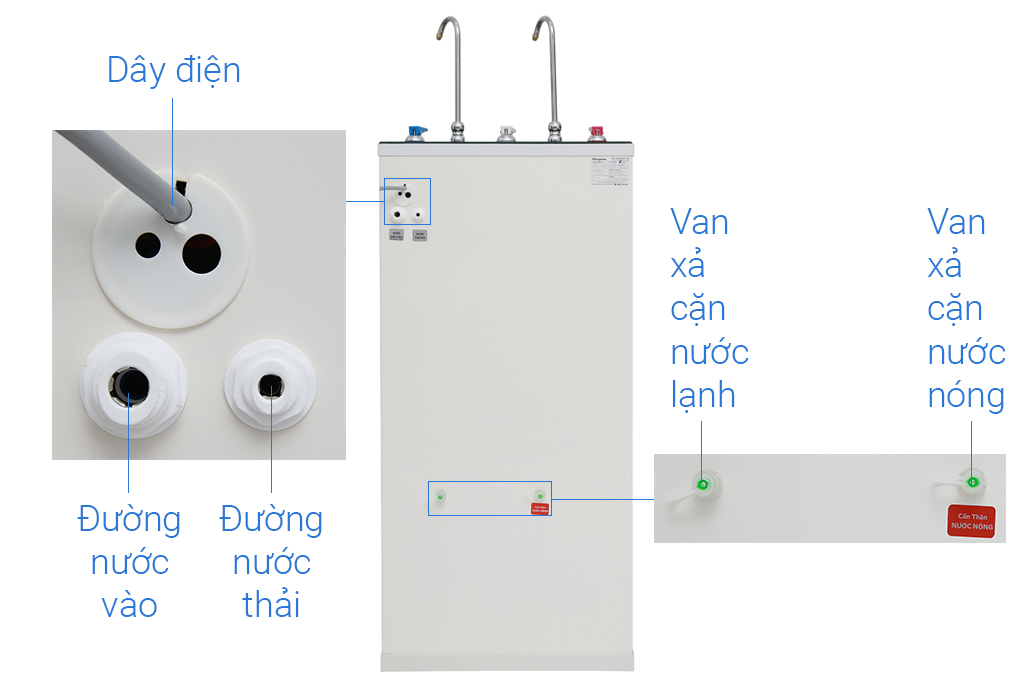 Ro 2 tap water dispenser KG10A3VTU